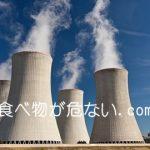 放射能の食品汚染はいつまで?少しの量でもガンに影響する?写真は原子力発電所の煙突画像。