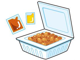まず、納豆は賞味期限を超えると、段々ベタつきがひどくなり、豆の一部が溶けてきます。