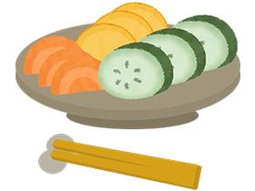 漬物にも乳酸菌が含まれているので、どんどん酸味が強くなります。
