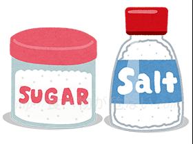 砂糖・塩・でん粉・うま味調味料