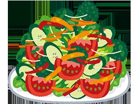 また、栄養をたくさん摂取しようと、野菜を食べ過ぎると体調を崩すことがあります。