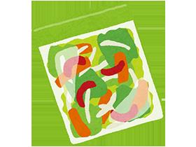 「袋詰されたカット野菜やコンビニのサラダは、次亜塩素酸ナトリウムという薬品で殺菌消毒されているから変色しない。見た目は良いが栄養はなく、体に悪い」という話を聞いたことがあります。