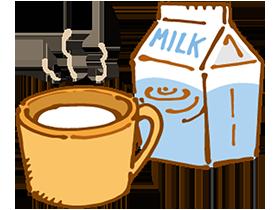 一度に大量に飲むことは避け、少しずつ飲むようにすれば、乳糖は分解されやすくなります。