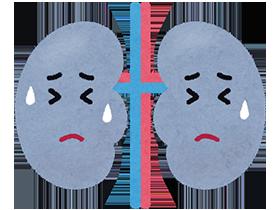 腎症は、糖尿病によって腎臓の働きが低下することで起こります。