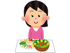 糖尿病の予防・改善法2:まず野菜から食べる!